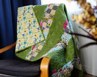 Green Garden Quilt