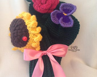 Flower Golf Covers in Bouquet