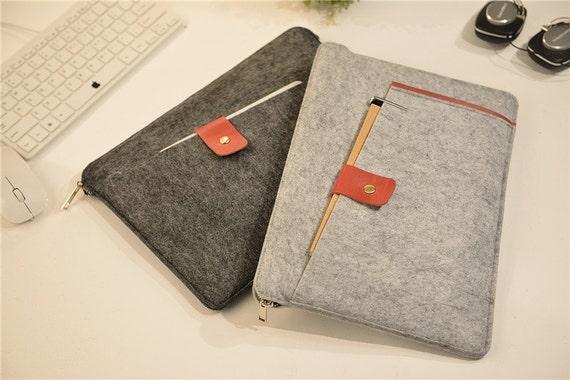 zipper felt mac book air 11 inch case 12 macbook 2015