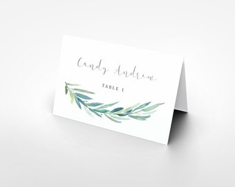 the place card