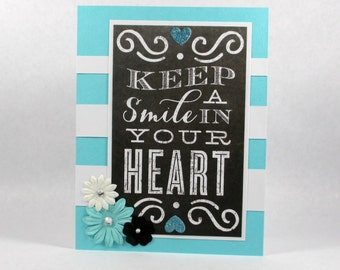 Just because card, friendship cards, smile, encouragement cards, thinking of you cards, I love you cards