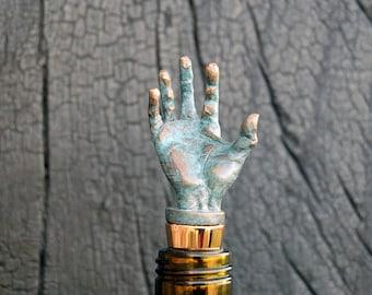 Hand Bottle Stopper