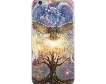 iPhone Case - Enlightened art print