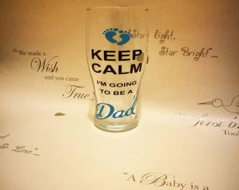 Keep calm I'm going to be a dad, dad gift, daddy gift, new dad gift, new daddy gift, dad to be, paternity gift, quirky dad gift,