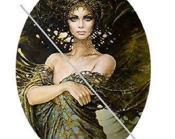18x25mm earth goddess