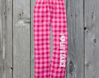 Let's Dance Flannel Pant