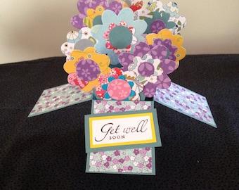 Lots of Flowers Get Well Soon Card