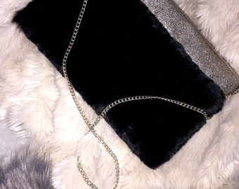 Black chic purse