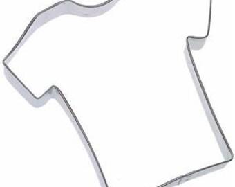 "4.5"" T Shirt Cookie Cutter  Sports Jersey, clothes cookie cutter"
