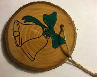 Wood Burned Ornament