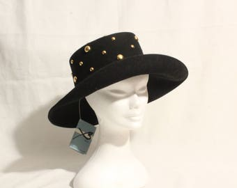 1980's Studded Hat