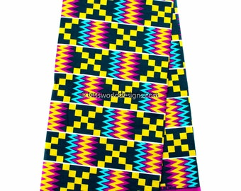 authentic hand woven kente cloth from ghana african fabric rh etsy com kente cloth border clip art kente cloth border clip art
