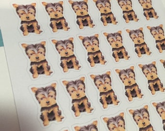 Yorkshire terrier stickers pet stickers CB0009
