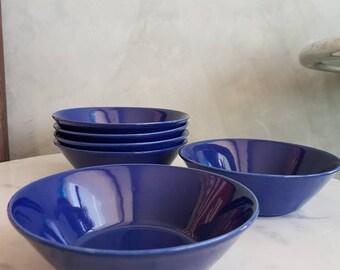 "Arabia Finland ""Kilta"" or ""Teema"" Fruit or Cereal Bowl Plate. Designed by Kaj Franck.  15 cms"