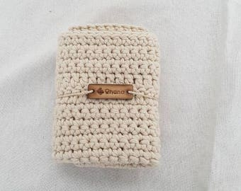 Handmade washcloth, crochet washcloth, washcloth, cotton blend, reusable, sustainable