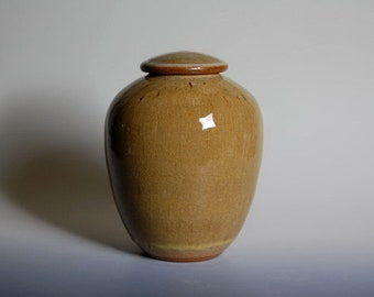 Urn, pottery, stoneware