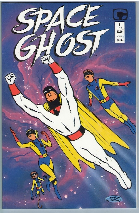 Space Ghost 1 Mar 1987 NM- (9.2)