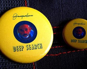 THE LIFE AQUATIC With Steve Zissou ~ Pin ~ Magnet ~ Button ~ Badge ~ Accessory ~ Pinback ~ Mag ~ Brooch ~ Merch ~ Original Concept/Design