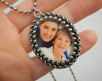 Picture Frame Necklace