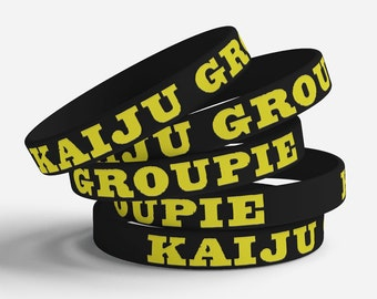 Kaiju Groupie jelly bracelet
