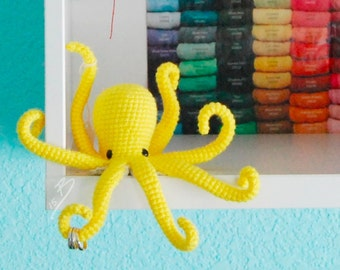PDF CROCHET PATTERN - Octopus