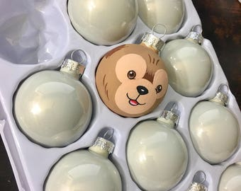 Hand Painted MINI Ornament : Your choice of character(s)
