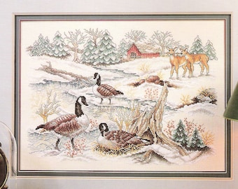 Stoney Creek Nature's Resting Place Leaflet 29 Cross Stitch Pattern