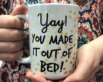 Not a Morning Person Mug - Funny Coffee Cup - Cute Coffee Mug
