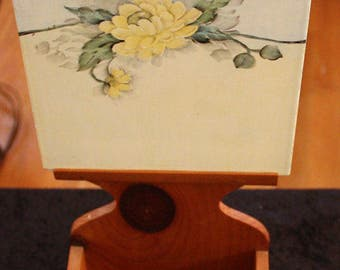 Vintage Interchangeable Tile Wall-Hanging Planter