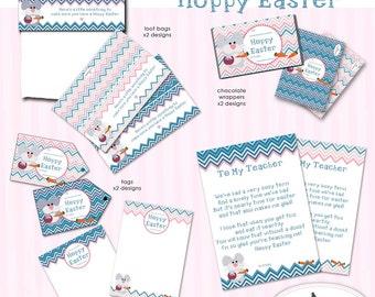 Hoppy Easter Printables - especially for school