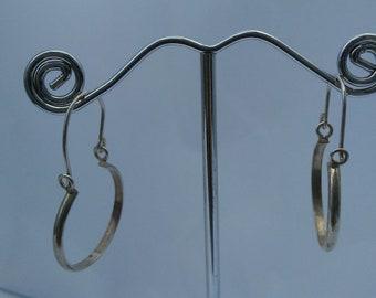 Hoop Earrings Sterling .925