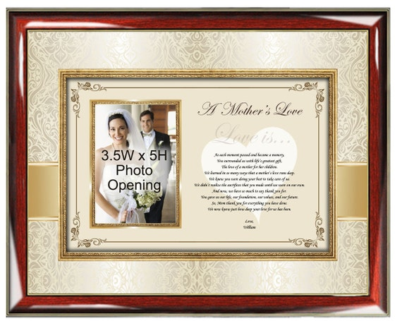 Mother Appreciation Poetry Picture Frame Mothers Day Birthday