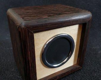 Bluetooth Speaker Wenge Wood