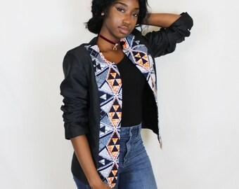 Blazer - afro print