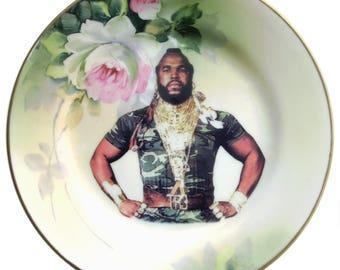 "Sergeant Bosco Portrait Plate 6.5"""
