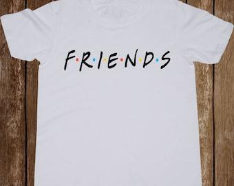 Friends logo Youth shirt/ Friends Tv Show toddler tshirt/ Friends Tv series/ Kid t-shirt/ Kids t shirt/ Boy shirt/ Girl tshirt/ Top/ (B9)