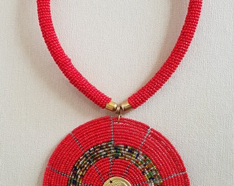 AFRICAN Massai JEWELRY, Necklace For Women, Women Necklace, Tribal Jewelry