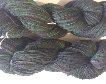 Toxicity - hand dyed lace weight