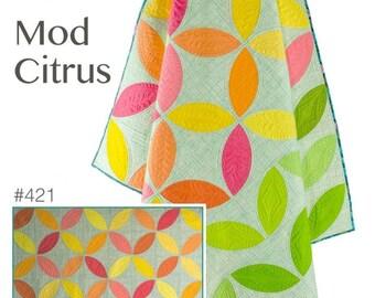 Mod Citrus Quilt Pattern