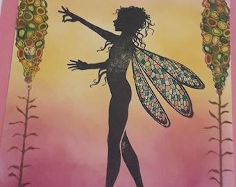 Faylin Fairy Card