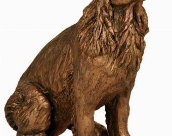 Winston - Springer Spaniel Sculpture