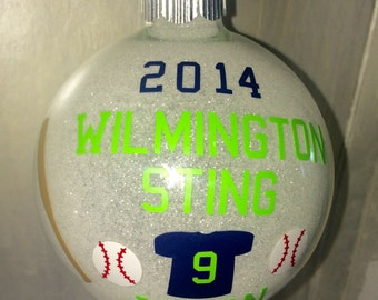 Christmas ornament, Christmas ornament baseball, Baseball Christmas ornament, Baseball  ornament
