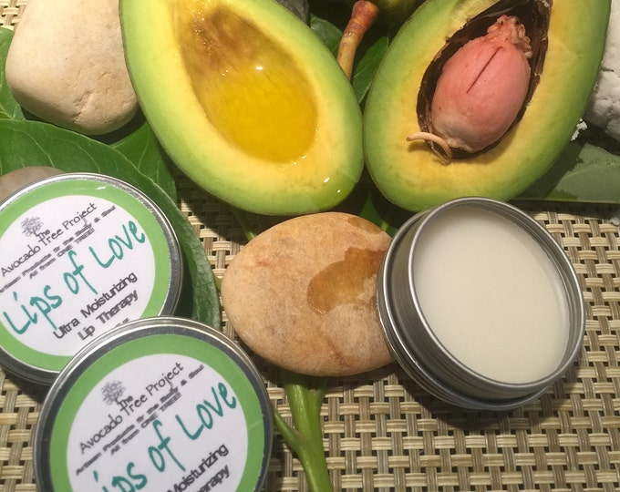 Featured listing image: Lips of Love - Avocado Lip Balm