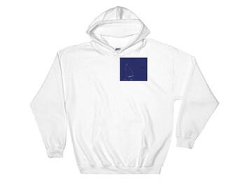 Hooded Sweatshirt with jasperwolfwolf logo