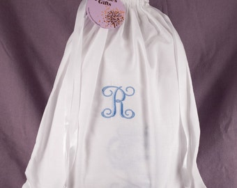 Personalized Monogrammed Lingerie Bag