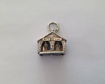 Vintage Nuvo 1960s 925 Wet and Dry Weather Vane Charm.