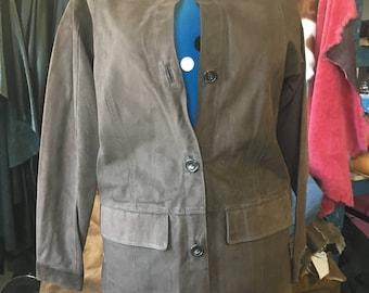 Brand new leather jacket. Men's leather jacket.