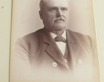 Antique Cabinet Card Distinguished Gentleman CC417