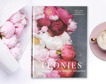 Peonies Book – Signed by Photographer Georgianna Lane, Peony Photography, Flower Photography, Gift for Peony Lover, Mothers Day Gift