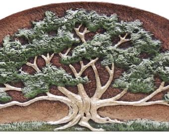Patriarch - Cast Paper - Oak Tree - Spreading Oak - Great Oak - Landscape - Father's Day